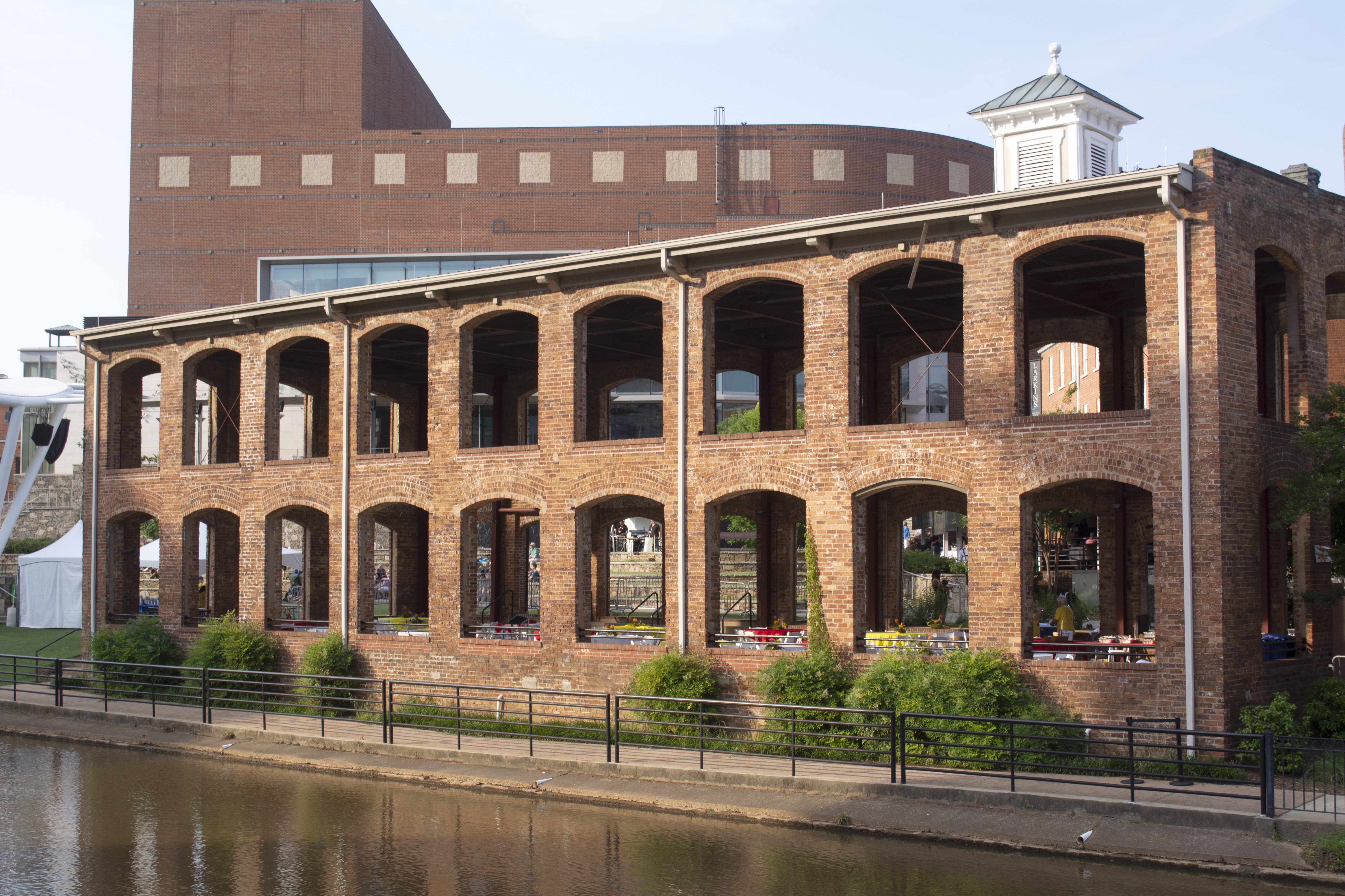Old Building in downtown Greenville, SC